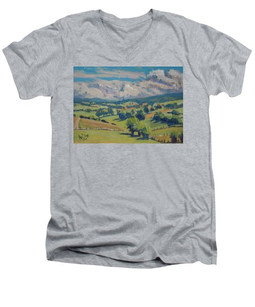 Valley Schweiberg Men's V-Neck T-Shirt