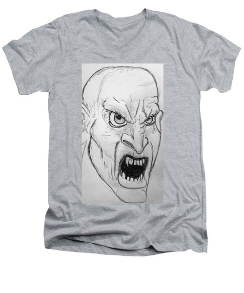 Vampire-y Ghouly Sort Of Thing Men's V-Neck T-Shirt