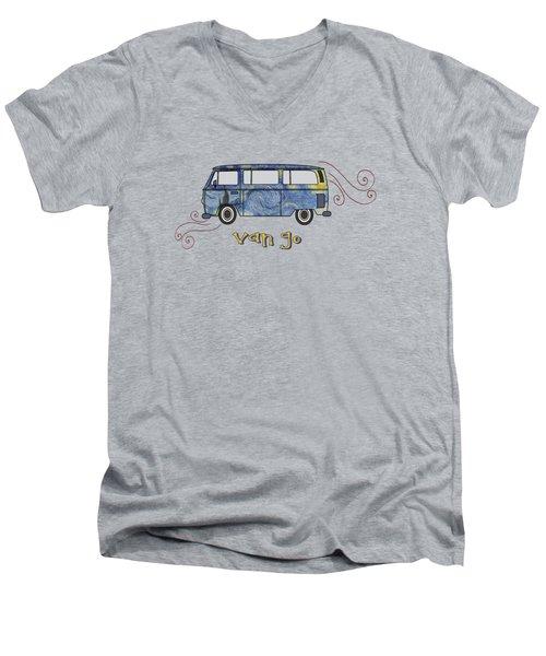 Van Go Men's V-Neck T-Shirt
