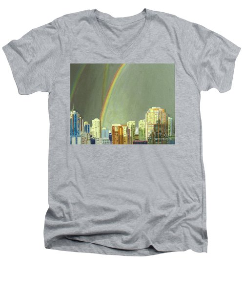 Vancouver Bc Men's V-Neck T-Shirt