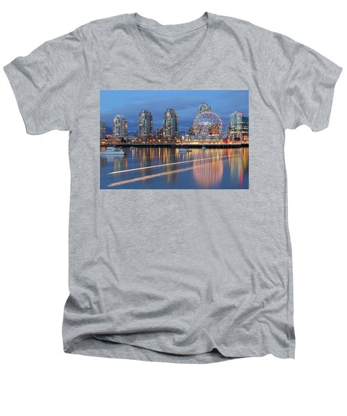 Vancouver Science World Men's V-Neck T-Shirt