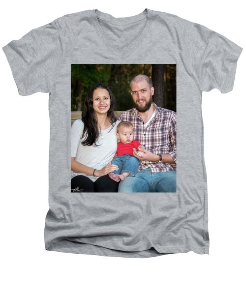 Vandoren 6608 Men's V-Neck T-Shirt