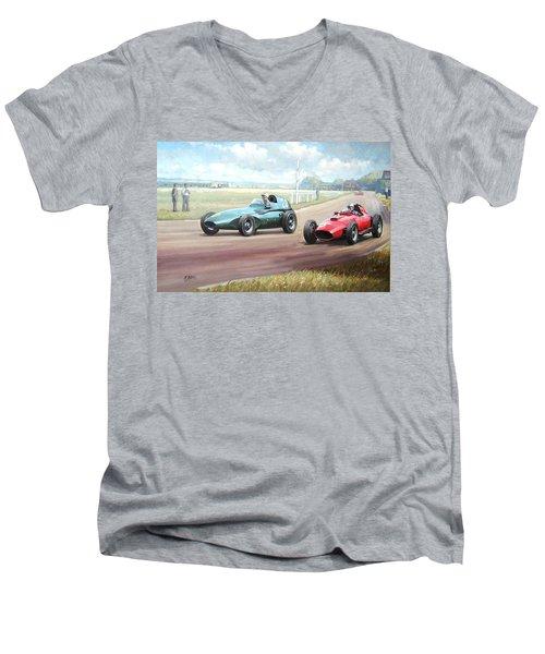 Vanwall Victory Men's V-Neck T-Shirt