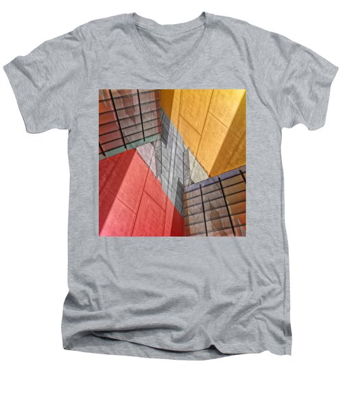 Variation On A Theme Men's V-Neck T-Shirt