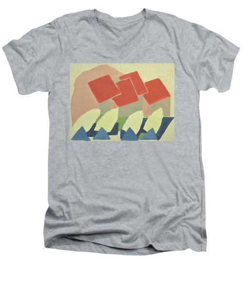 Vastkusten, West Coast,hamburgsund 1985_1250 Up To 90 X 60 Cm Men's V-Neck T-Shirt