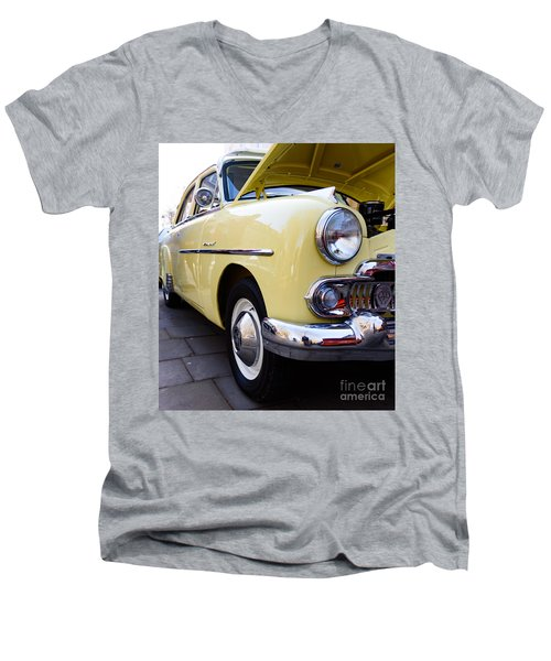 Vauxhall Velox Men's V-Neck T-Shirt by Colin Rayner
