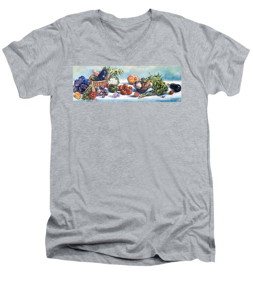 Veggies  Men's V-Neck T-Shirt