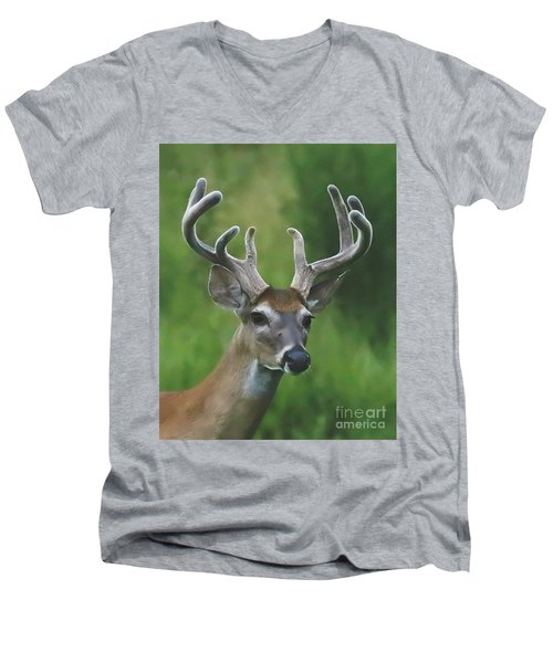Velvet Beauty Men's V-Neck T-Shirt