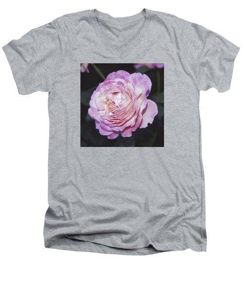 Velvia Rose Men's V-Neck T-Shirt