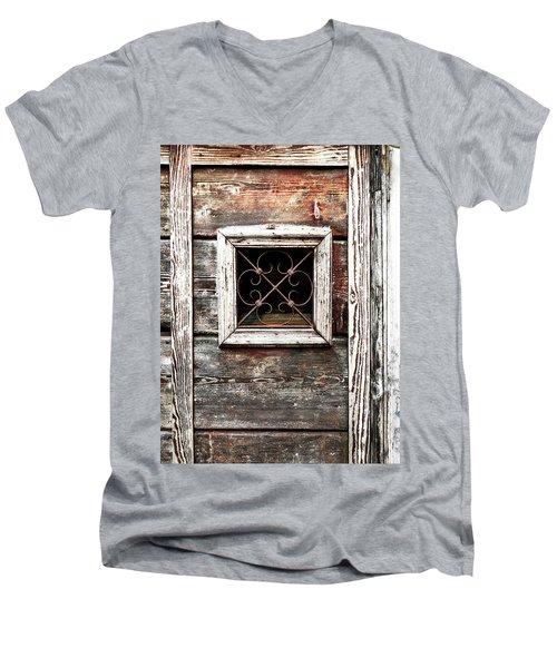 Venetian Window Men's V-Neck T-Shirt