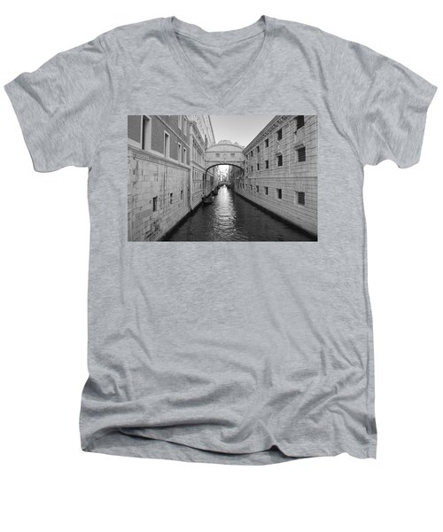 Venice Men's V-Neck T-Shirt by Jonathan Kerckhaert