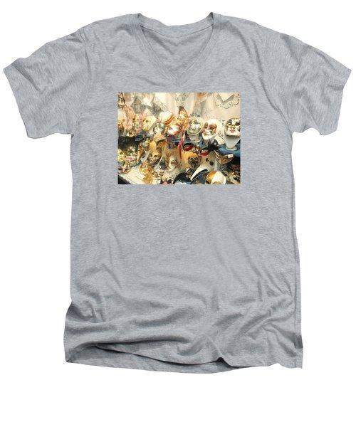 Venice Masks Men's V-Neck T-Shirt