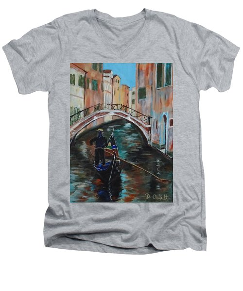Venice Morning Men's V-Neck T-Shirt
