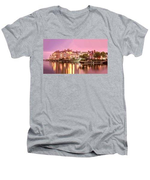 Venice Of Jersey City Men's V-Neck T-Shirt
