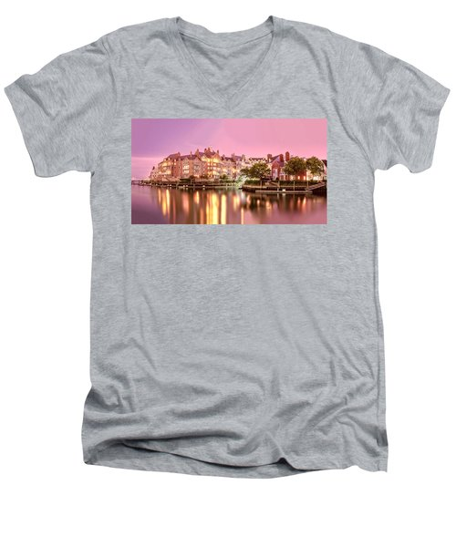 Venice Of Jersey City Men's V-Neck T-Shirt