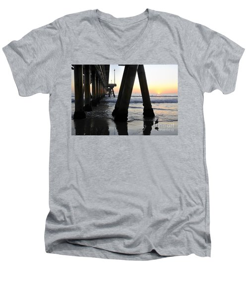 Venice Pylong Bird Men's V-Neck T-Shirt