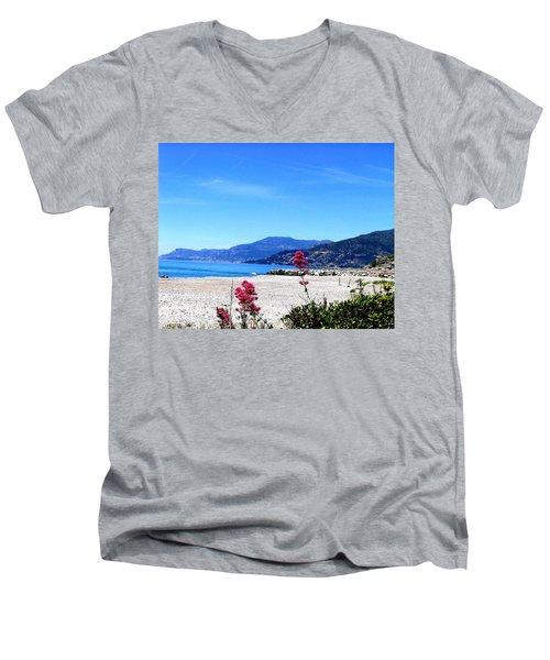 Ventimiglia Italia Men's V-Neck T-Shirt