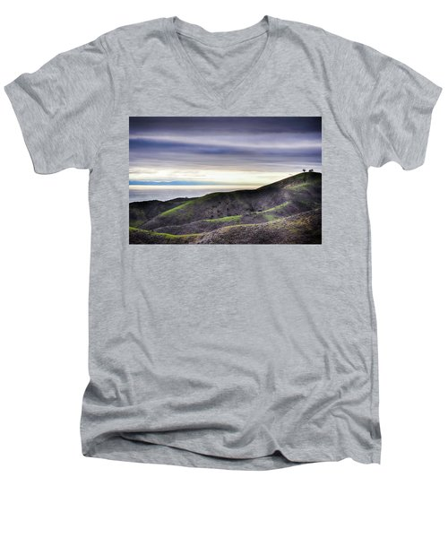 Ventura Two Sisters Men's V-Neck T-Shirt by Kyle Hanson