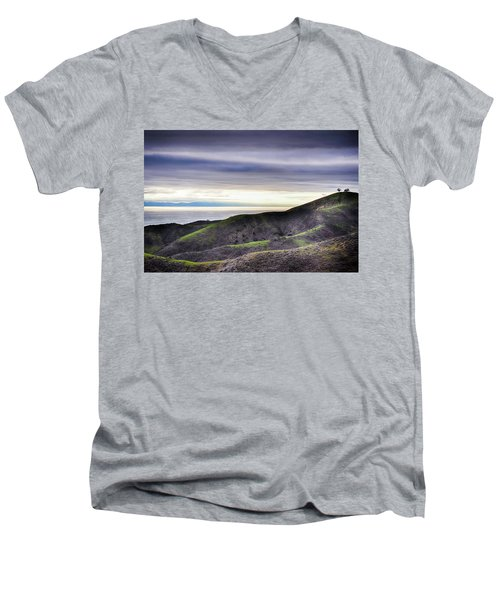 Ventura Two Sisters Men's V-Neck T-Shirt