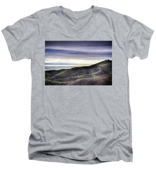 Ventura Two Sisters Men's V-Neck T-Shirt