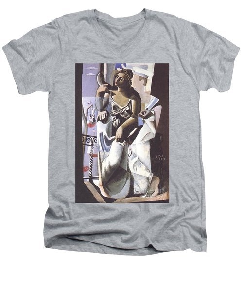 Venus And Sailor Men's V-Neck T-Shirt
