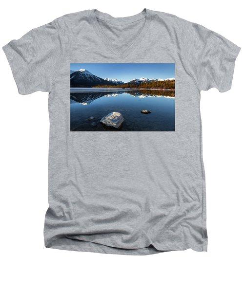 Vermillion 2 Men's V-Neck T-Shirt