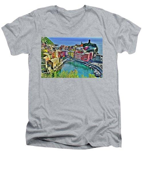 Vernazza Alight Men's V-Neck T-Shirt