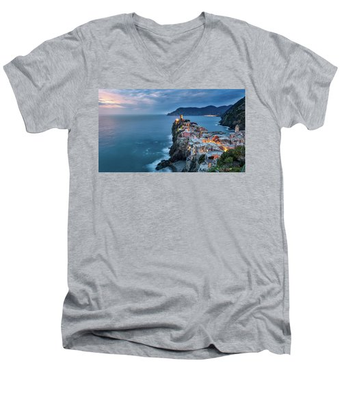Vernazza Men's V-Neck T-Shirt
