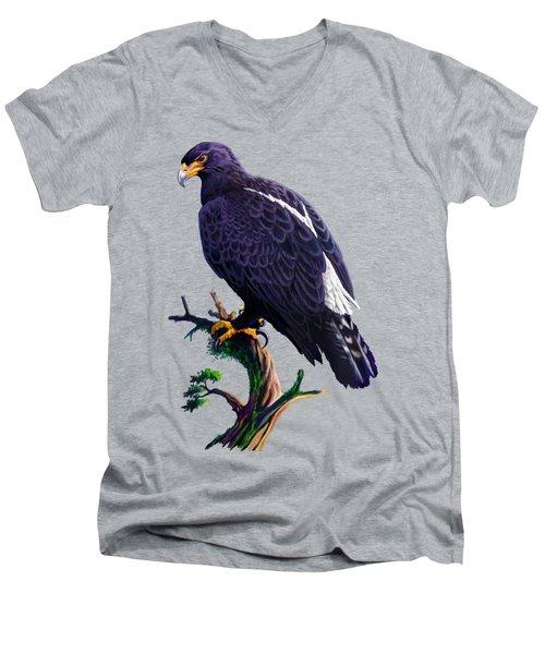 Verreaux's Eagle  Men's V-Neck T-Shirt
