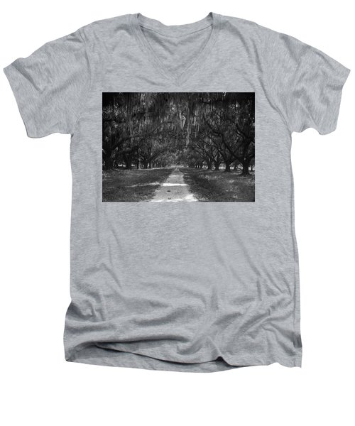 Versailles Oaks Men's V-Neck T-Shirt