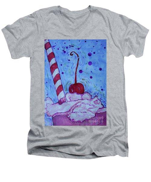 Very Cherry Soda Men's V-Neck T-Shirt