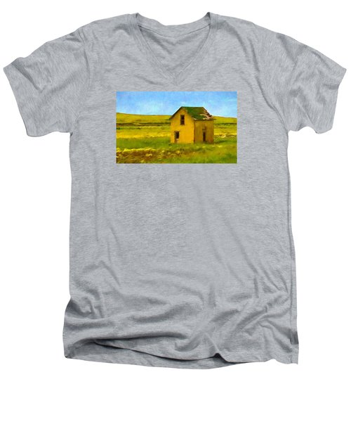 Very Little House Men's V-Neck T-Shirt
