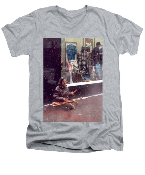 Vet Selling Pencils Men's V-Neck T-Shirt