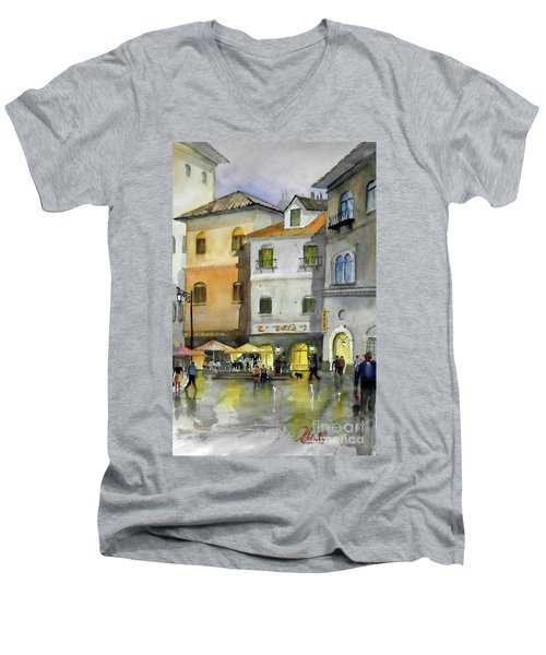 via Corso Men's V-Neck T-Shirt