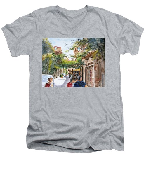via Margutta Men's V-Neck T-Shirt