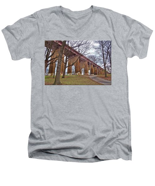 Viaduct Men's V-Neck T-Shirt