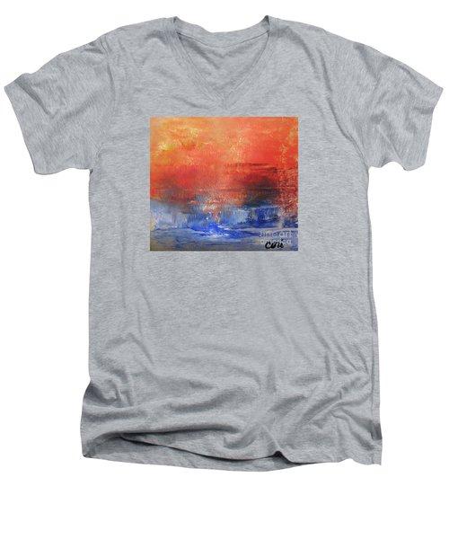 Vibrance Of Fall Men's V-Neck T-Shirt