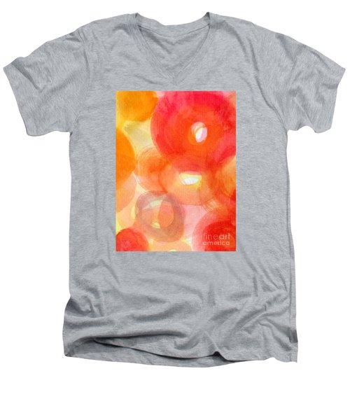 Vibration Men's V-Neck T-Shirt by France Laliberte
