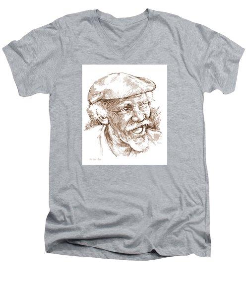 Victor Boa Men's V-Neck T-Shirt