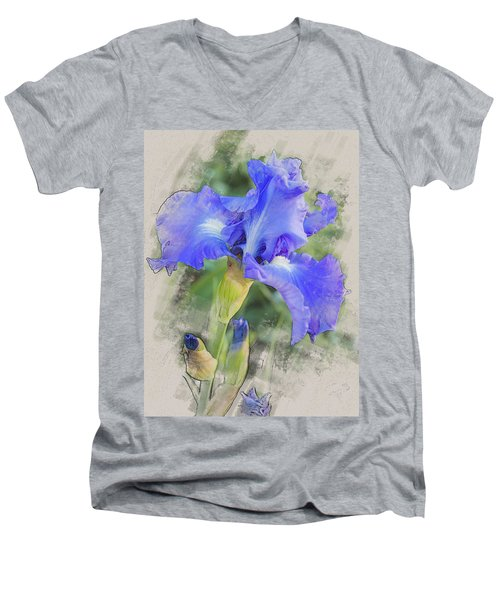Victoria Falls Men's V-Neck T-Shirt