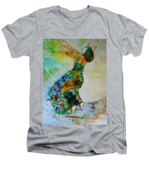 Victory Dance Men's V-Neck T-Shirt