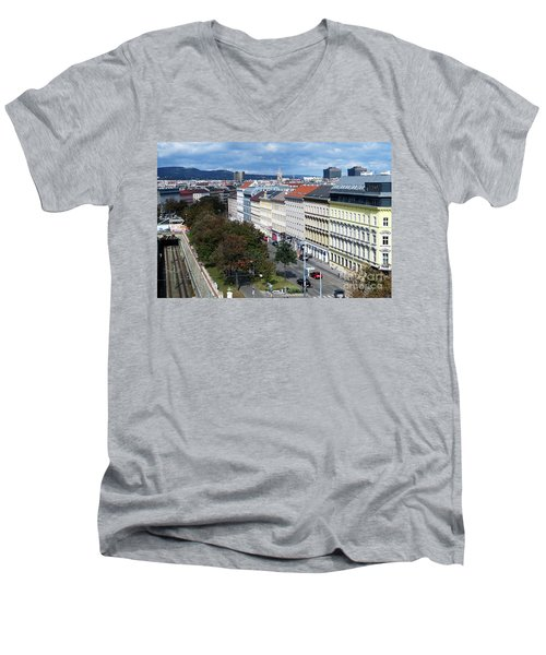 Vienna Beltway Men's V-Neck T-Shirt