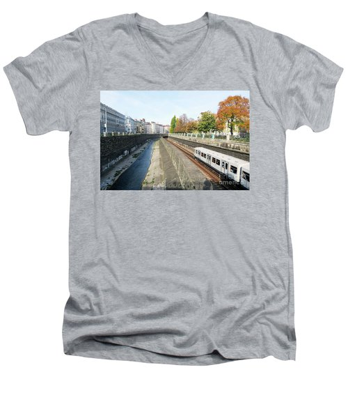 Vienna Canal Men's V-Neck T-Shirt