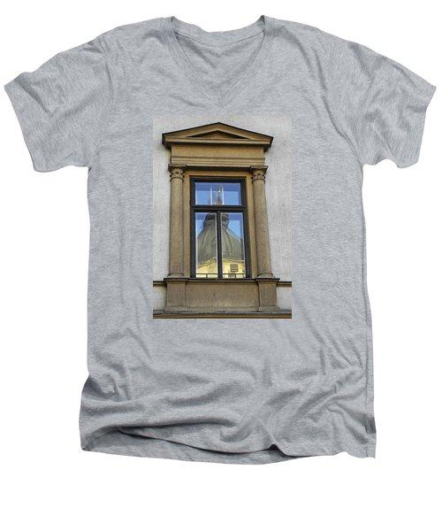 Vienna Reflections Men's V-Neck T-Shirt