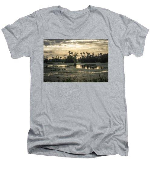 Viera Storm Men's V-Neck T-Shirt