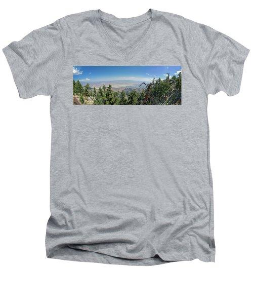 View From Mount San Jacinto Men's V-Neck T-Shirt