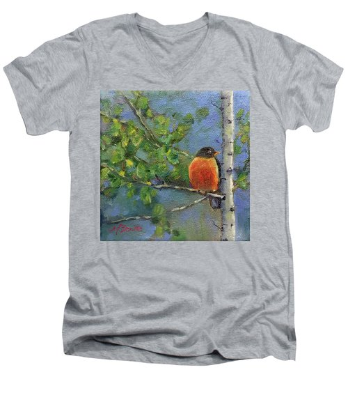 View From My Window Men's V-Neck T-Shirt