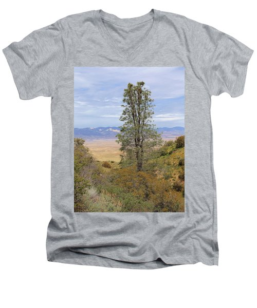 View From Pine Canyon Rd Men's V-Neck T-Shirt