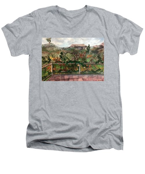 View From The Deck Men's V-Neck T-Shirt