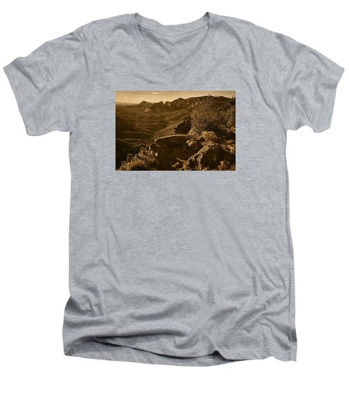 View From The Top Tnt Men's V-Neck T-Shirt